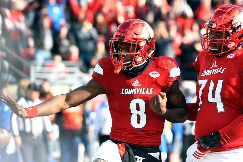 Brandon Radcliff Louisville Cardinals Football Jersey - Black