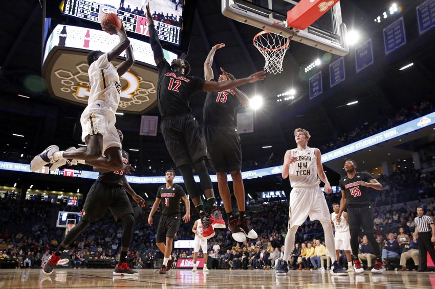 No breaks for Georgia Tech with No. 9 Louisville next